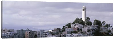 Coit Tower On Telegraph Hill, San Francisco, California, USA Canvas Print #PIM4279