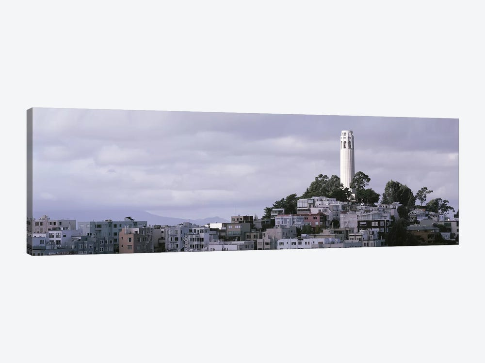 Coit Tower On Telegraph Hill, San Francisco, California, USA by Panoramic Images 1-piece Canvas Print