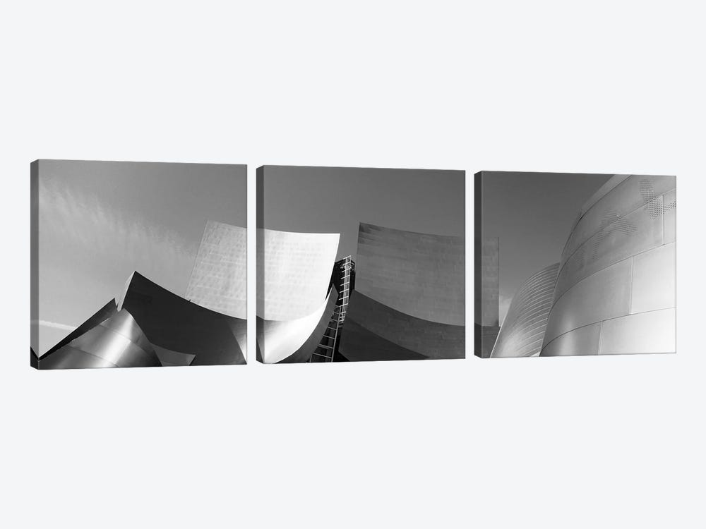 Walt Disney Concert Hall, Los Angeles, California, USA by Panoramic Images 3-piece Canvas Print