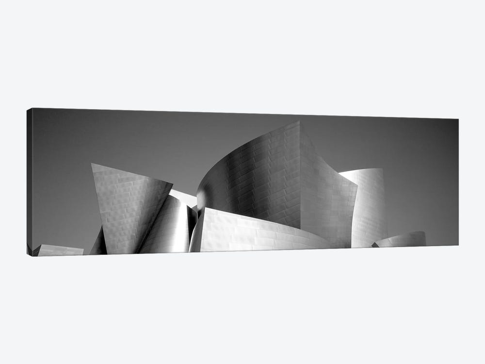 Low angle view of a building, Walt Disney Concert Hall, City of Los Angeles, California, USA by Panoramic Images 1-piece Canvas Art