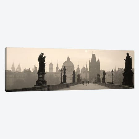 Charles Bridge Prague Czech Republic Canvas Print #PIM4292} by Panoramic Images Canvas Wall Art