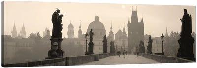 Charles Bridge Prague Czech Republic Canvas Print #PIM4292