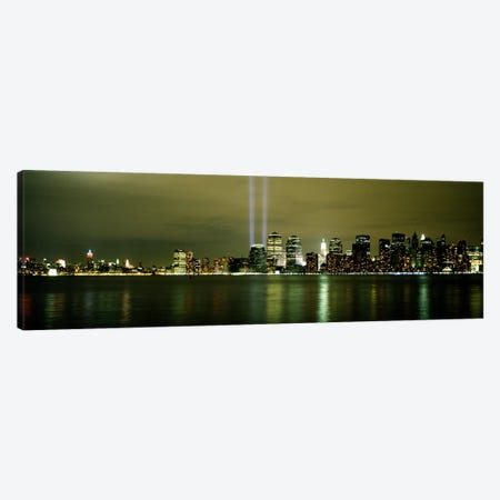 Beams Of Light, New York, New York State, USA Canvas Print #PIM4298} by Panoramic Images Canvas Art