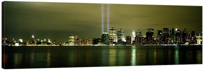 Beams Of Light, New York, New York State, USA Canvas Print #PIM4298