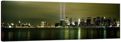 Beams Of Light, New York, New York State, USA Canvas Art Print