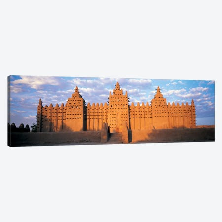 Great Mosque Of Djenne, Mali, Africa Canvas Print #PIM4308} by Panoramic Images Canvas Art