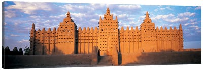 Great Mosque Of Djenne, Mali, Africa Canvas Art Print