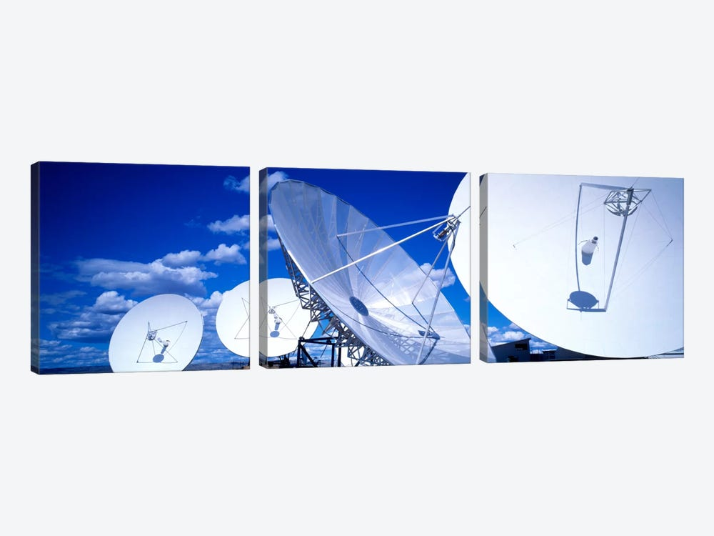 Communication Satellite Brewster WA USA by Panoramic Images 3-piece Canvas Artwork
