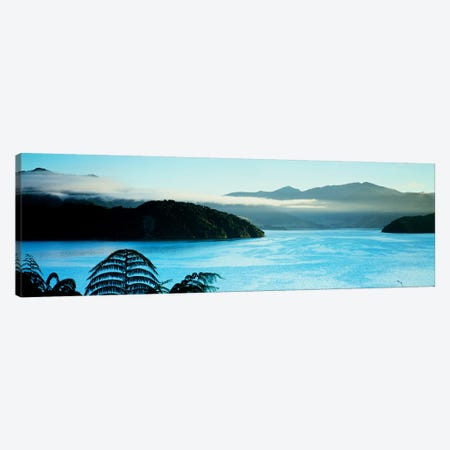 Kenepuru Sound, Marlborough Sounds, South Island, New Zealand Canvas Print #PIM4311} by Panoramic Images Canvas Print