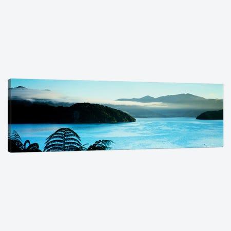 Kenepuru Sound, Marlborough Sounds, South Island, New Zealand Canvas Print #PIM4311} by Panoramic Images Canvas Print