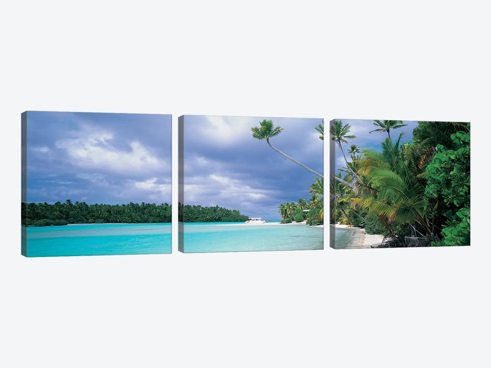 Aitutak Cook Islands New Zealand by Panoramic Images 3-piece Canvas Art