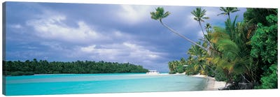 Aitutak Cook Islands New Zealand Canvas Art Print