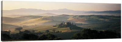 Farm Tuscany Italy Canvas Art Print