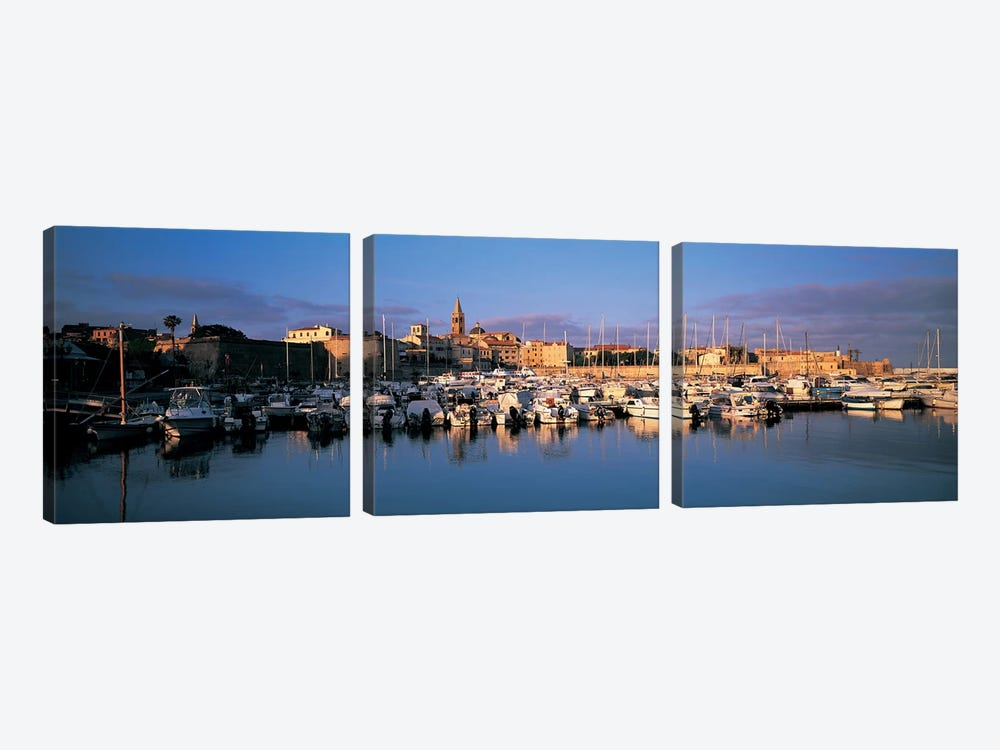 Alghero Sardinia Italy by Panoramic Images 3-piece Canvas Art