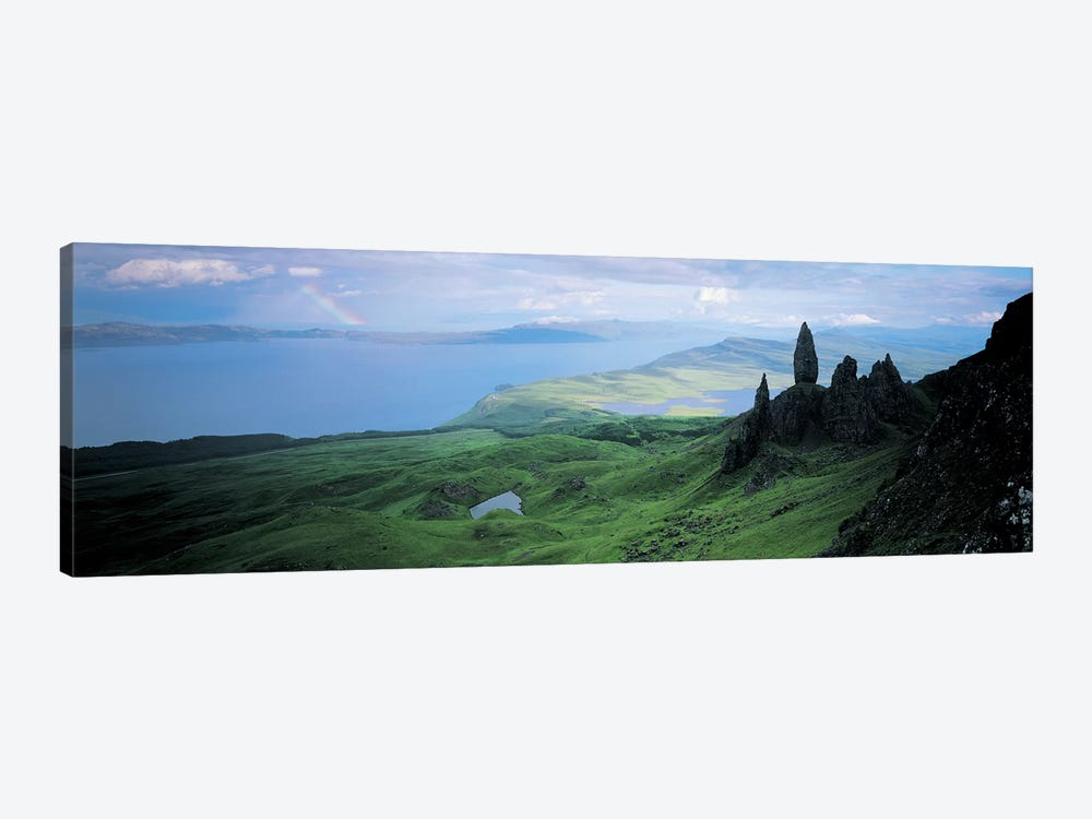 Coastal Highland Landscape Near The Sound Of Raasay, Scotland, United Kingdom by Panoramic Images 1-piece Canvas Art