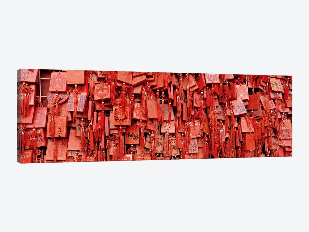 Prayer offerings at a templeDai Temple, TaiÕan, China by Panoramic Images 1-piece Canvas Wall Art