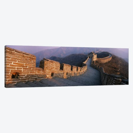 Mutianyu Section, Great Wall Of China, People's Republic Of China Canvas Print #PIM4324} by Panoramic Images Canvas Art Print