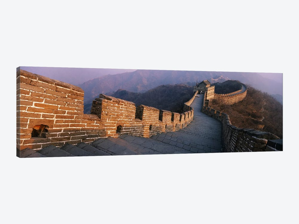 Mutianyu Section, Great Wall Of China, People's Republic Of China by Panoramic Images 1-piece Canvas Wall Art