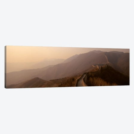 Mutianyu Section, Great Wall Of China 3-Piece Canvas #PIM4325} by Panoramic Images Canvas Art Print