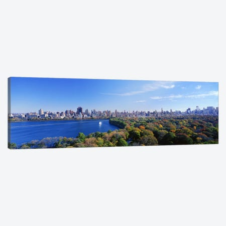 Buildings in a cityCentral Park, Manhattan, New York City, New York State, USA Canvas Print #PIM4330} by Panoramic Images Art Print