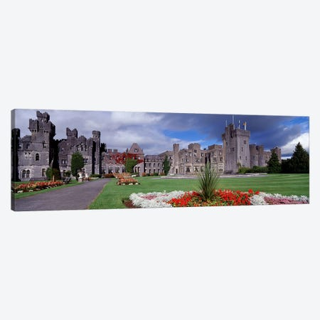 Ashford Castle, County Galway, Connacht Province, Republic Of Ireland Canvas Print #PIM4332} by Panoramic Images Canvas Print