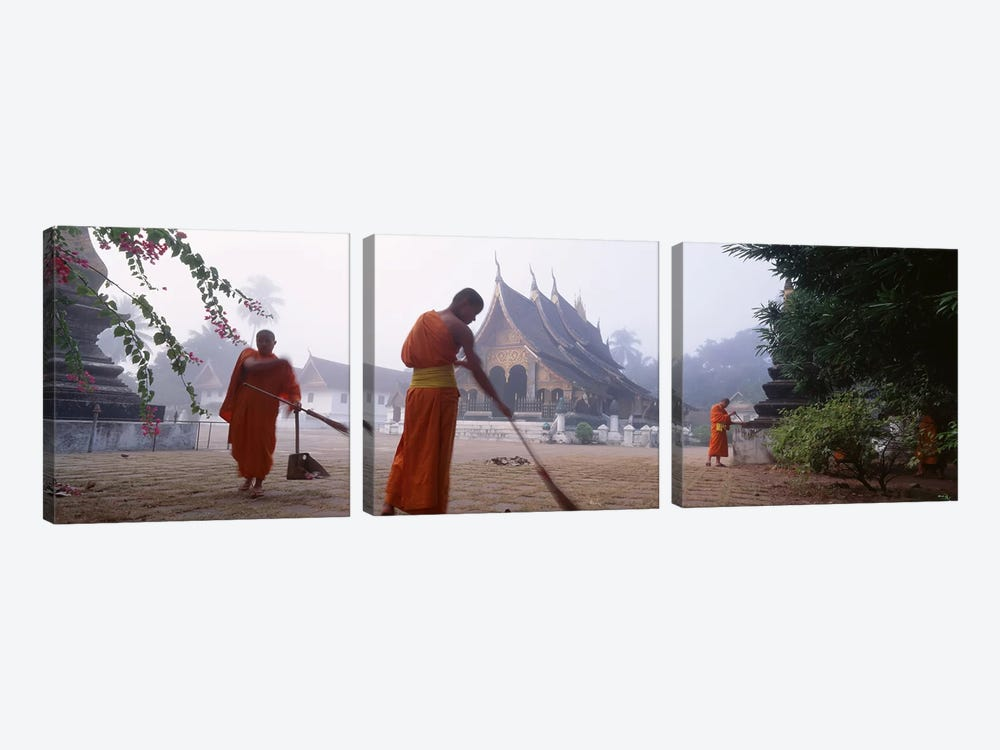 Vat Xieng ThongLuang Prabang, Laos by Panoramic Images 3-piece Art Print