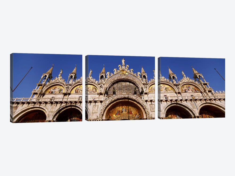 Saint Marks BasilicaVenice, Italy by Panoramic Images 3-piece Canvas Art