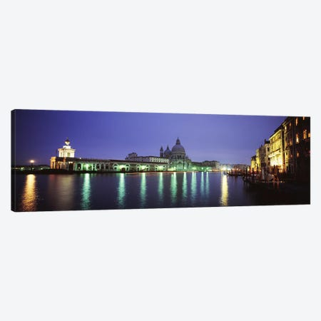 Grand Canal, Venice, Italy Canvas Print #PIM4364} by Panoramic Images Canvas Art Print