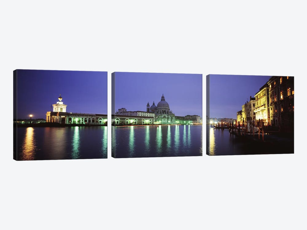 Grand Canal, Venice, Italy by Panoramic Images 3-piece Canvas Artwork