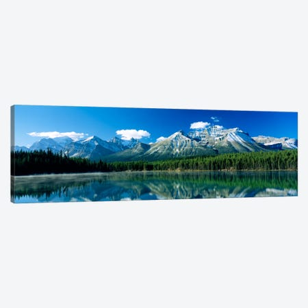 Herbert Lake Banff National Park Canada Canvas Print #PIM436} by Panoramic Images Canvas Art