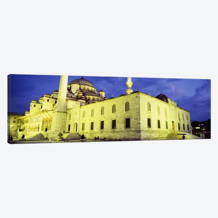 Yeni Mosque, Istanbul, Turkey Canvas Print #PIM4395} by Panoramic Images Canvas Wall Art