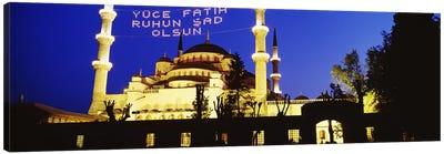 Blue Mosque, Istanbul, Turkey Canvas Print #PIM4398
