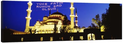 Blue Mosque, Istanbul, Turkey Canvas Art Print