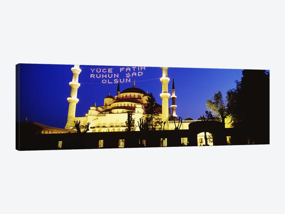 Blue Mosque, Istanbul, Turkey by Panoramic Images 1-piece Canvas Art Print