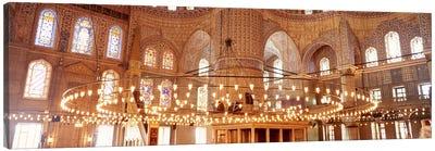 Blue Mosque, Istanbul, Turkey #2 Canvas Print #PIM4400