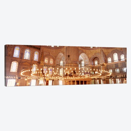 Blue Mosque, Istanbul, Turkey #2 Canvas Print #PIM4400} by Panoramic Images Art Print