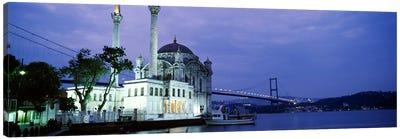 Ortakoy Mosque, Istanbul, Turkey Canvas Print #PIM4401