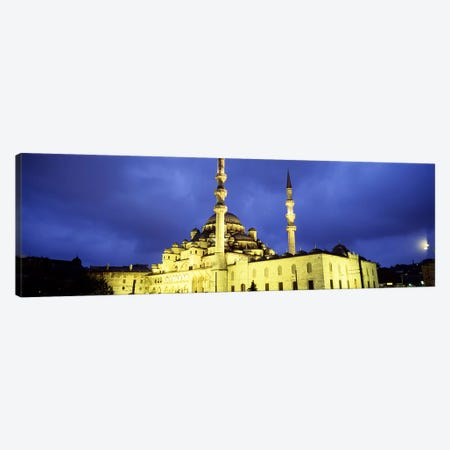 Yeni Mosque, Istanbul, Turkey #2 Canvas Print #PIM4402} by Panoramic Images Canvas Art Print