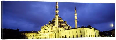 Yeni Mosque, Istanbul, Turkey #2 by Panoramic Images Canvas Art Print