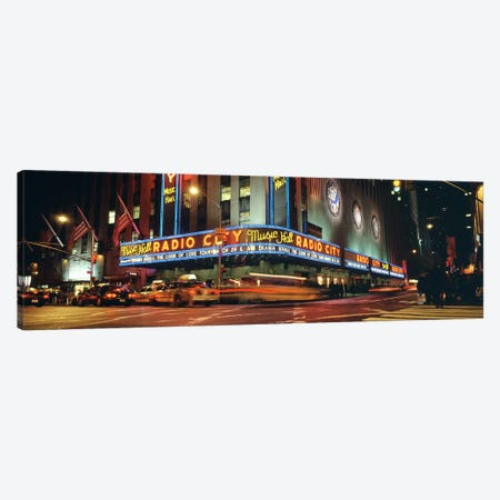 Manhattan, Radio City Music Hall, NYC, New York City, New York State, USA Canvas Print #PIM4406} by Panoramic Images Canvas Wall Art