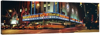 Manhattan, Radio City Music Hall, NYC, New York City, New York State, USA Canvas Print #PIM4406