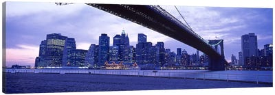 Brooklyn Bridge, NYC, New York City, New York State, USA #2 Canvas Print #PIM4407
