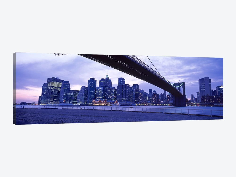 Brooklyn Bridge, NYC, New York City, New York State, USA #2 by Panoramic Images 1-piece Canvas Wall Art