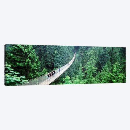 Capilano Suspension Bridge, North Vancouver, British Columbia, Canada Canvas Print #PIM4415} by Panoramic Images Canvas Print