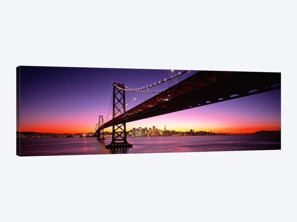 Bay Bridge San Francisco CA USA by Panoramic Images 1-piece Canvas Wall Art