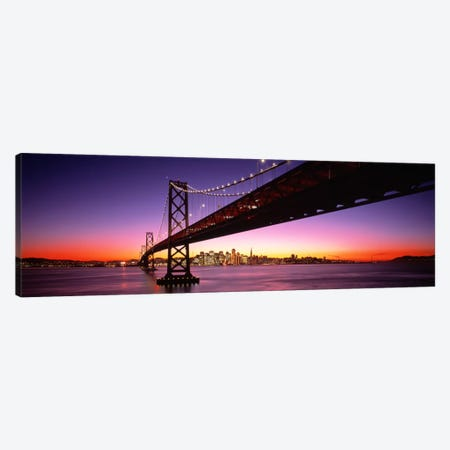 Bay Bridge San Francisco CA USA Canvas Print #PIM441} by Panoramic Images Canvas Art