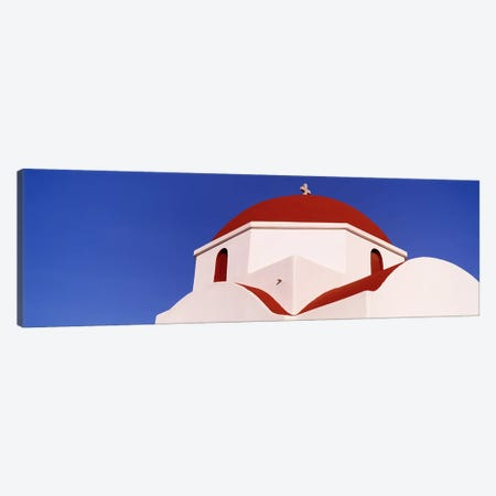 Low angle view of a church, Mykonos, Cyclades Islands, Greece Canvas Print #PIM4463} by Panoramic Images Canvas Print