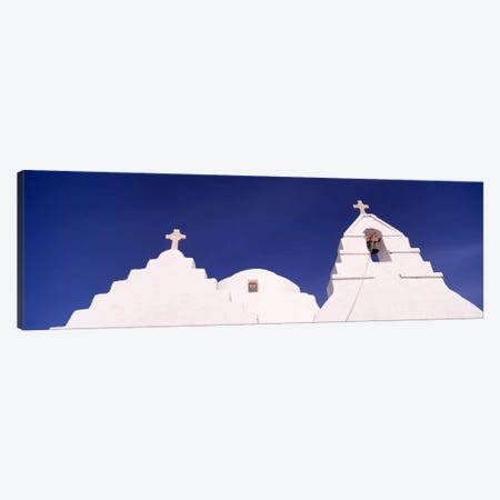 Low angle view of a church, Mykonos, Cyclades Islands, Greece #2 Canvas Print #PIM4464} by Panoramic Images Canvas Art