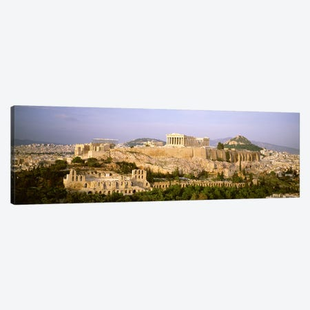 High Angle View, Acropolis, Athens, Greece Canvas Print #PIM4465} by Panoramic Images Canvas Artwork