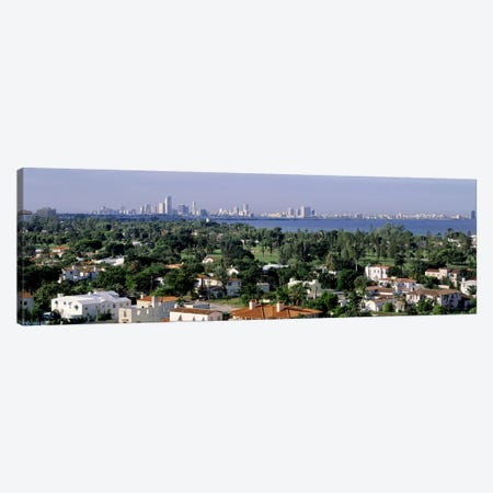 High Angle View Of The City, Miami, Florida, USA Canvas Print #PIM4479} by Panoramic Images Canvas Art